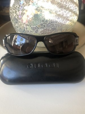 Gucci Occhiale nero-argento