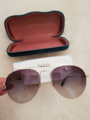 Gucci Gafas de piloto color oro