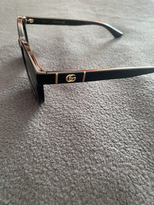 Gucci Owalne okulary przeciwsłoneczne Wielokolorowy
