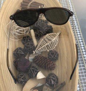 Gucci Lunettes brun noir