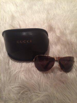 Gucci Occhiale da pilota oro-nero