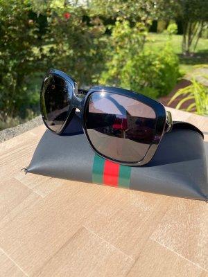 Gucci Occhiale stile retro nero