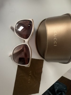 Gucci Gafas Retro beige claro-color oro