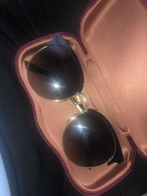 Gucci Gafas negro-marrón arena