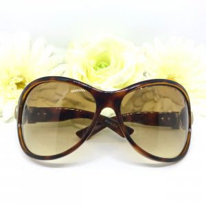 Gucci Butterfly Glasses sand brown-bronze-colored