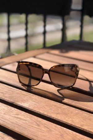 Gucci Lunettes retro brun foncé