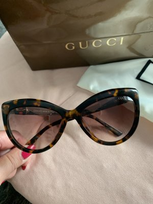 Gucci Butterfly bril bruin-donkerbruin