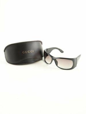 Gucci Lunettes de soleil angulaires noir