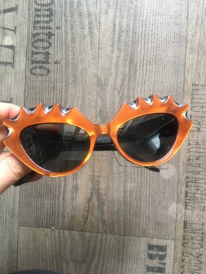 Gucci Bril zwart-oranje