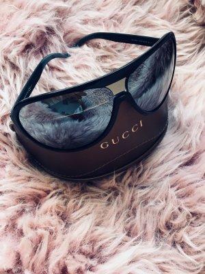 Gucci Gafas de piloto color plata-negro