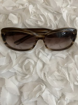 Gucci Gafas de sol redondas marrón claro