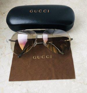 Gucci Aviator Glasses cream-gold orange