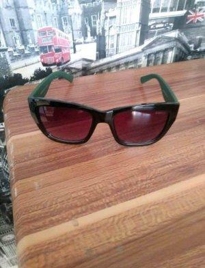 Gucci Oval Sunglasses multicolored