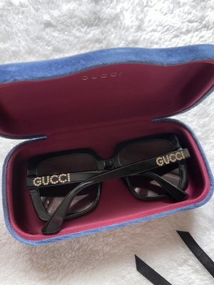 Gucci Gafas de sol cuadradas negro