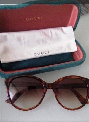 Gucci Ronde zonnebril veelkleurig