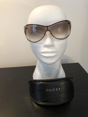 Gucci Sonnenbrille grünbraun, bräunliche Gläser