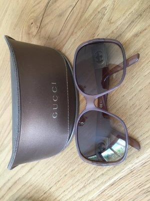 Gucci Occhiale da sole spigoloso multicolore