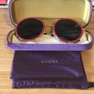 Gucci Lunettes de soleil rondes multicolore