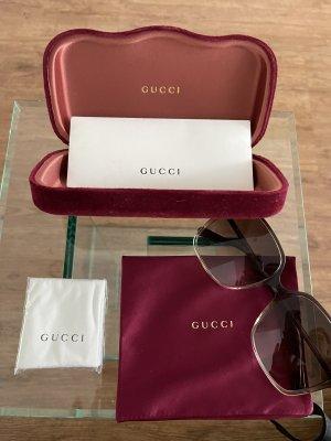 Gucci Gafas marrón claro-beige