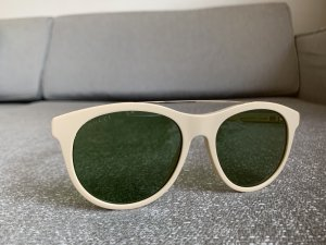 Gucci Gafas de sol redondas crema-color oro