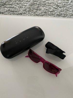 GUCCI Sonnenbrille pink/fuchsia/himbeerfarben