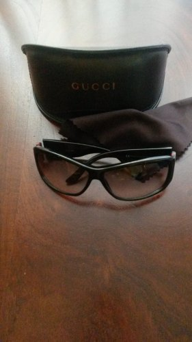 Gucci Sonnenbrille schwarz