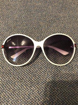 Gucci Sonnenbrille Weiß