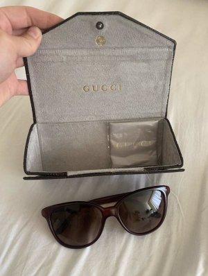 Gucci Bril roodbruin