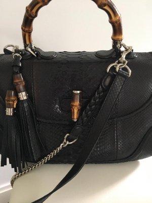 Gucci Speziell Edition Bambus Leder Damen Tasche Gebraucht - brandneue mit Certificate