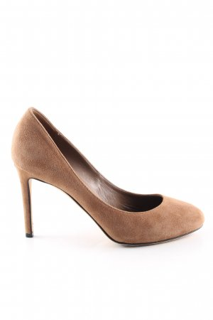 Gucci Spitz-Pumps braun Business-Look