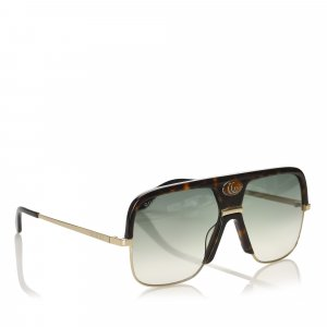 Gucci Square Tinted Sunglasses
