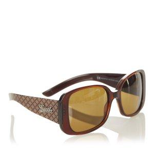 Gucci Gafas de sol marrón oscuro