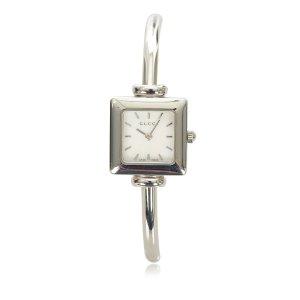 Gucci Reloj color plata plata verdadero