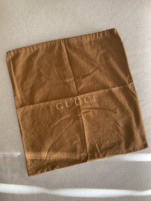 Gucci Bolso de tela marrón-coñac Algodón