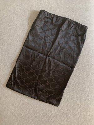 Gucci Canvas Bag dark brown