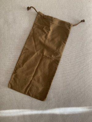 Gucci Bolso de tela coñac-marrón Algodón