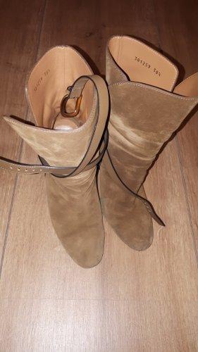 Gucci Slip-on laarzen lichtbruin
