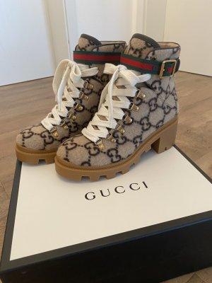 Gucci Bottines à lacets multicolore