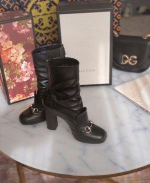 Gucci Talons hauts noir-argenté