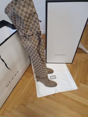 Gucci Stivale cuissard beige