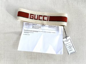 Gucci Oorwarmers donkerrood-room