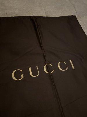 Gucci Torebka typu worek ciemnobrązowy