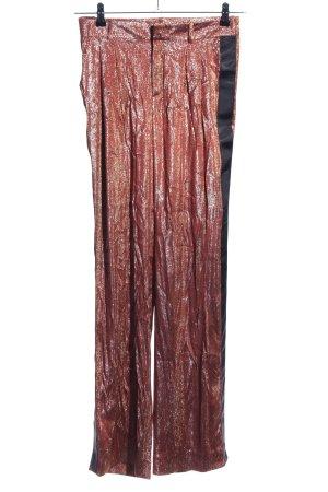 Gucci Stoffhose Streifenmuster extravaganter Stil