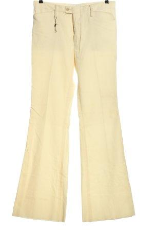 Gucci Pantalon en jersey crème style décontracté