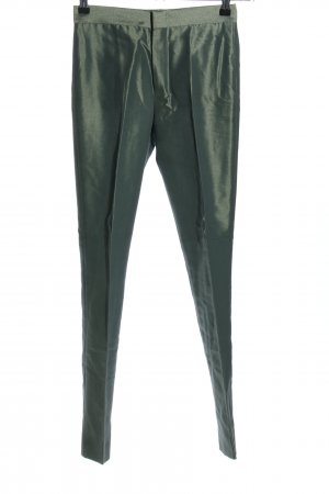 Gucci Stoffhose grün Casual-Look