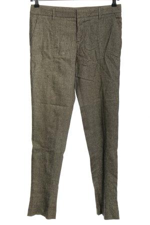 Gucci Spodnie materiałowe jasnoszary Melanżowy W stylu casual