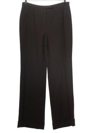 Gucci Pantalon en jersey noir style d'affaires