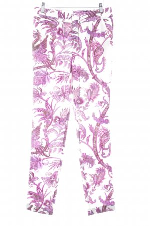Gucci Stoffhose florales Muster Elegant