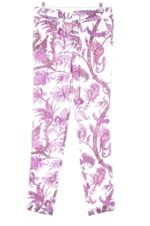 Gucci Stoffhose florales Muster Elegant