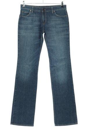 Gucci Jeans a gamba dritta blu stile casual